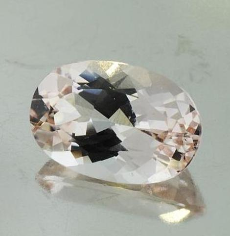 Morganit Oval 6,67 ct