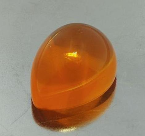 Fire Opal Cabo pear 11.47 ct