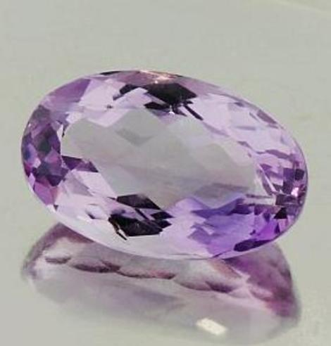 Amethyst oval 24.63 ct