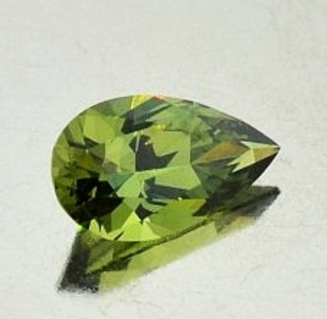 Demantoid pear 1.49 ct