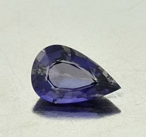 Iolite pear 1.41 ct