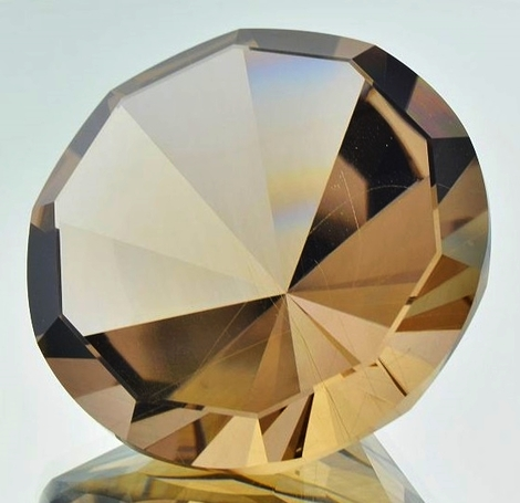 Smoky Quartz round Masterstone 292.65 ct