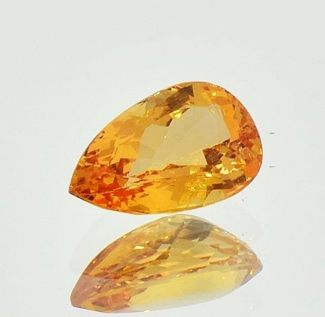Imperial Topaz pear 3.21 ct