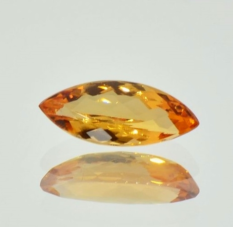 Imperial Topaz marquise 3.23 ct
