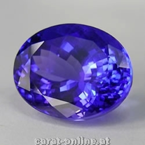 Tanzanite oval 4.65 ct