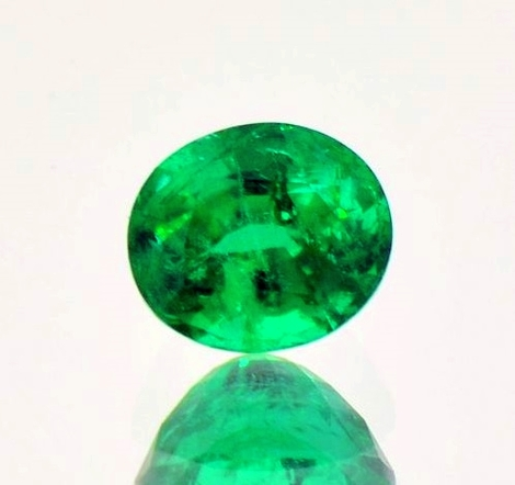 Emerald oval 1.23 ct