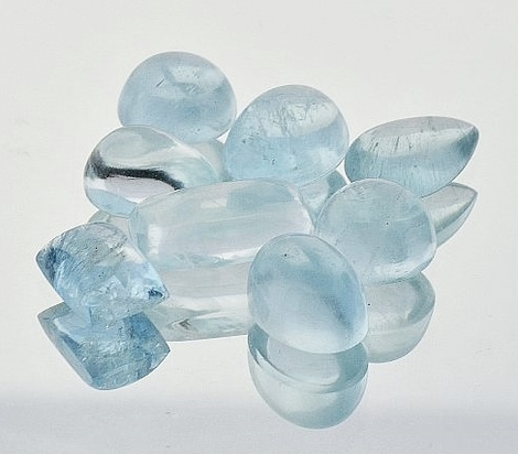 Aquamarin Lot Cabochon-Mix 18,20 ct