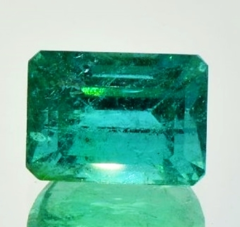 Emerald octagon 10.24 ct