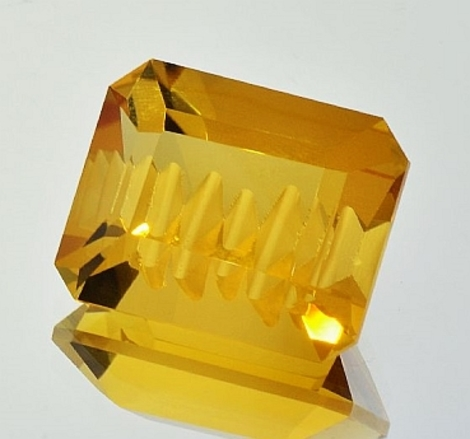 Citrine octagon-design 42.07 ct