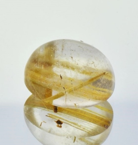 Rutilated Quartz Cabo oval 13.28 ct