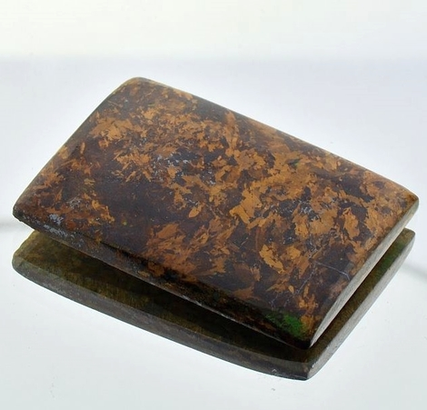 Bronzite rectangle 80.45 ct.