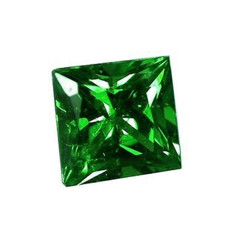 Tsavorit Princess 0,17 ct