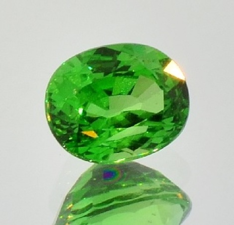 Tsavorit Oval 2,91 ct