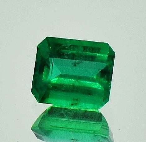 Emerald octagon 1.29 ct
