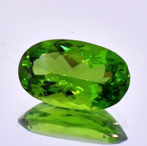 Peridot Oval 11,18 ct