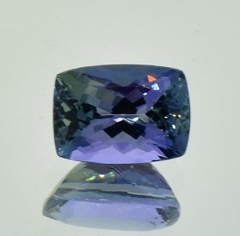 Tanzanite cushion unheated 3.00 ct