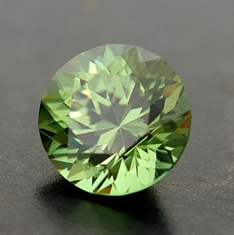 Demantoid round 1.61 ct