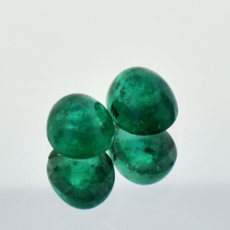 Emerald Pair Cabo oval 4.48 ct