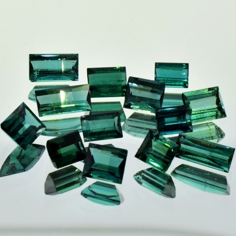 Tourmaline Lot Baguette 11.44 ct