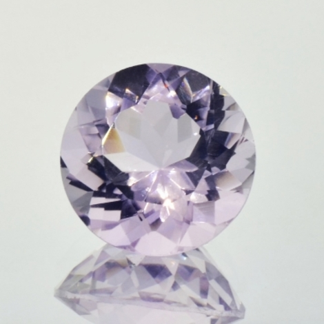 Amethyst round very light lilac 11.15 ct