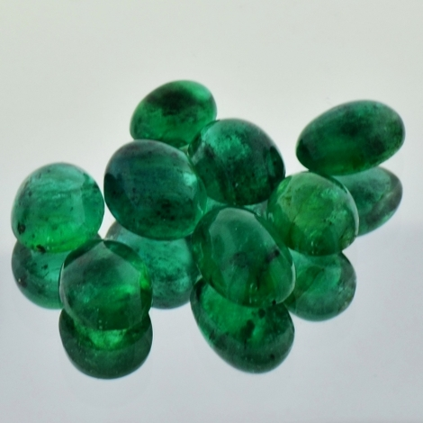Emerald Lot Cabo oval 15.21 ct