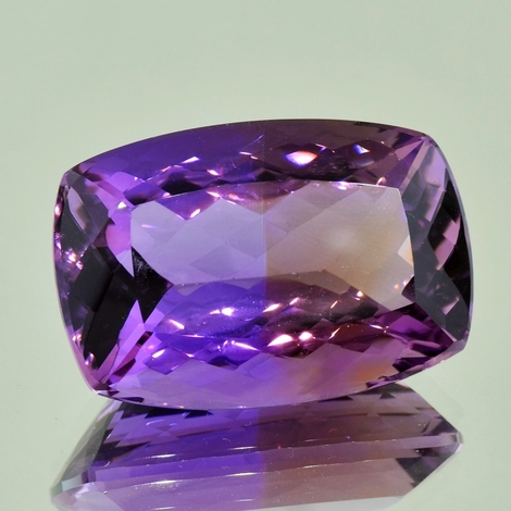 Ametrine cushion 77.23 ct