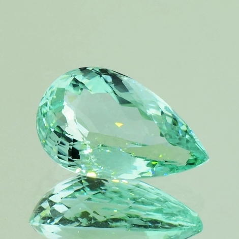 Tourmaline pear 7.69 ct