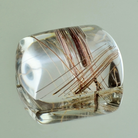Rutilated Quartz Cabo barrel 48.38 ct