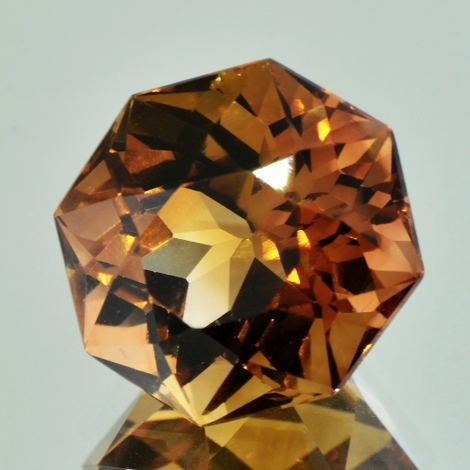 Topas Octagon-Design 26,18 ct