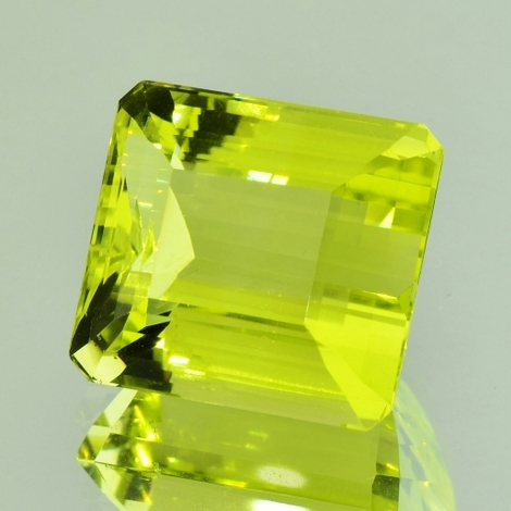 Lemonquarz octagon 27,49 ct