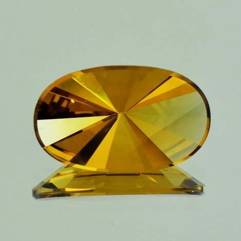 Citrine Oval-Design 13.86 ct