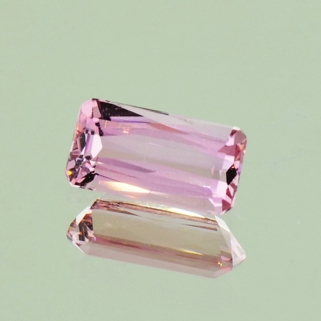 Tourmaline octagon light pink 1.40 ct