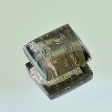 Tourmaline barrel greyish-brown 9.14 ct