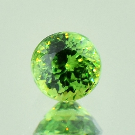 Demantoid rund 0,80 ct