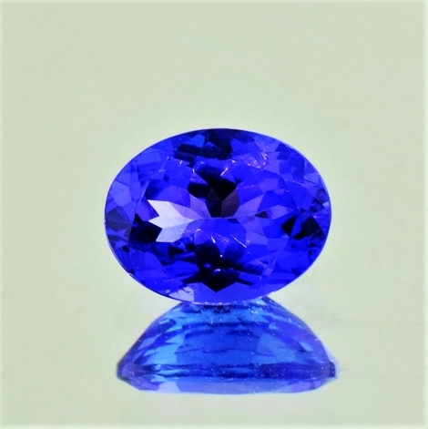 Tanzanite oval 2.08 ct