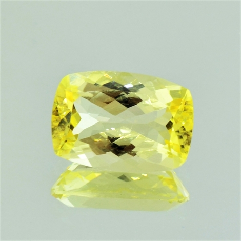 Scapolite cushion yellow 8.26 ct