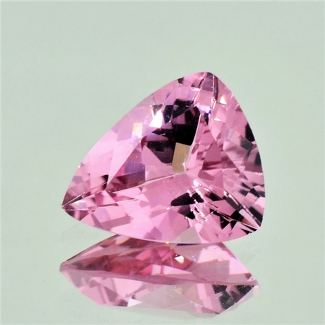 Turmalin Trillion rosa 5,58 ct