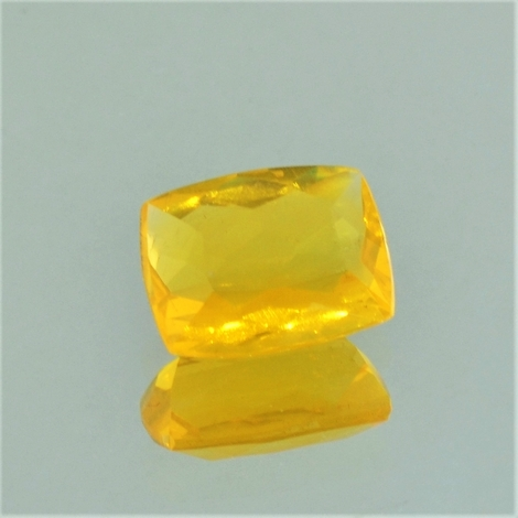 Fire Opal cushion yellow 1.78 ct.