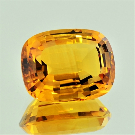 Citrin antikoval goldgelb 23,65 ct
