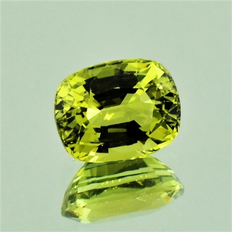 Chrysoberyl cushion 3.31 ct