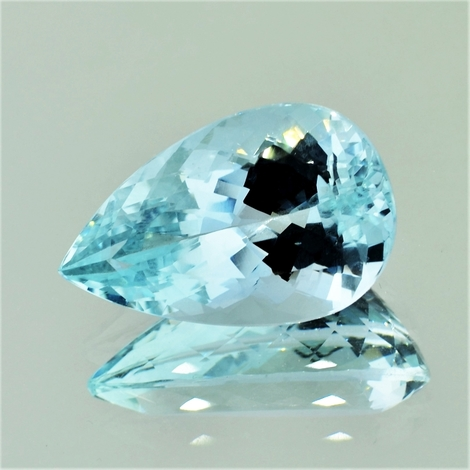 Aquamarine pear 10.40 ct