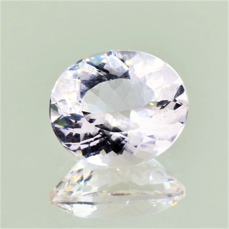 Morganit oval zartrosa 5,27 ct