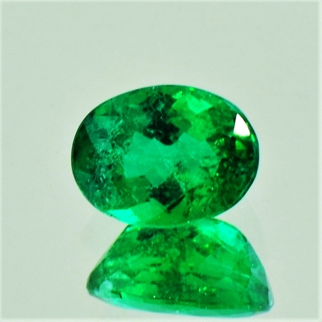 Emerald oval 1.42 ct