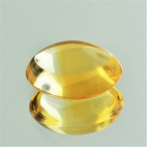 Citrin Cabochon oval 22,46 ct