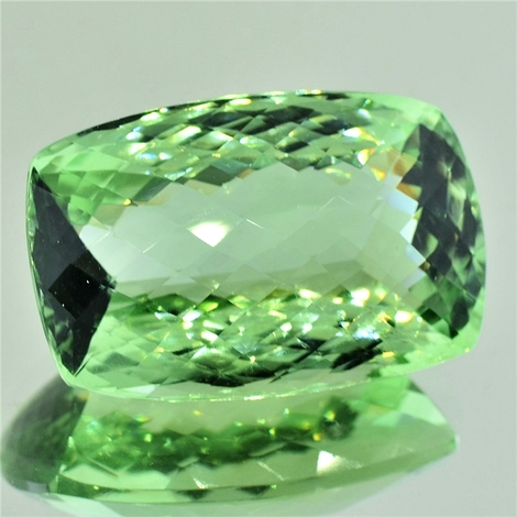 Prasiolith cushion-checkerboard 47.34 ct