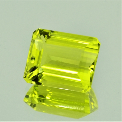 Lemonquarz octagon 24,92 ct