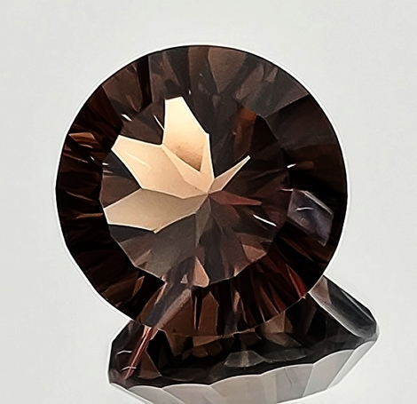 Smoky Quartz Rund-Design 16.78 ct