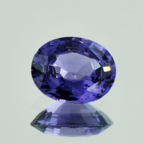 Spinell oval blau 3,21 ct