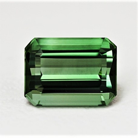 Green Tourmaline Tourmaline octagon 6.53 ct