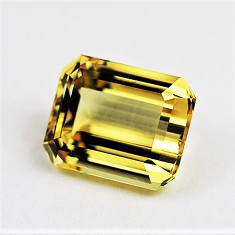 Goldberyll octagon 6,66 ct